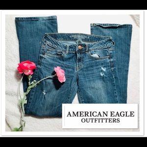 American Eagle Boyfriend Jeans sz 8